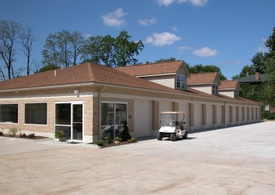 The Main Front office of Greensburg Park Self-Storage